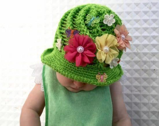 Crochet Cloche Hats The Best Free Collection | Pinterest