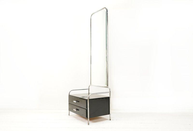 Bauhausstil Möbel vintage kommoden bauhaus spiegelkommode schwarz ein