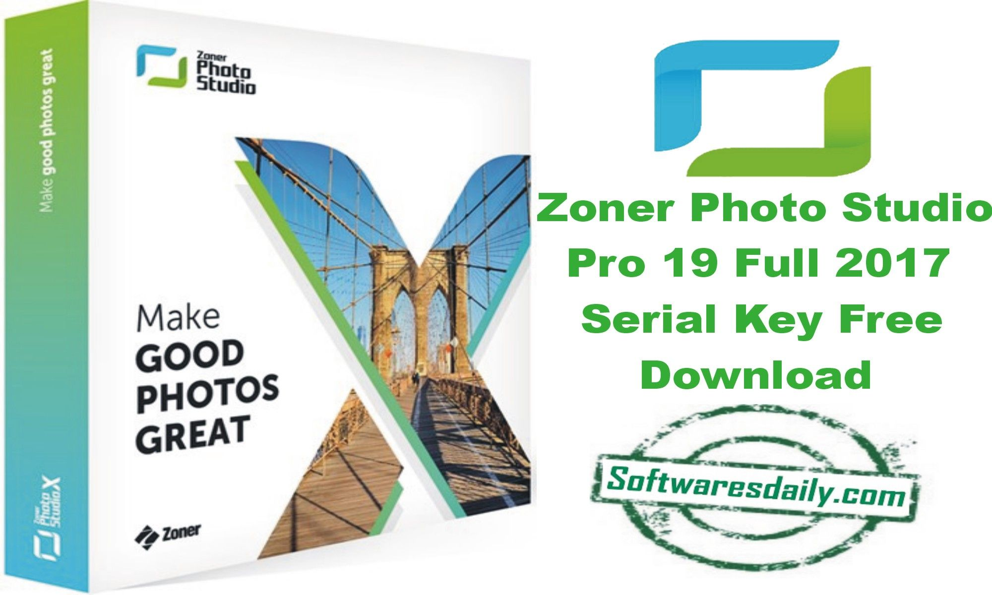 Zoner Studio Pro 19 Full 2017 Serial Key Free Download