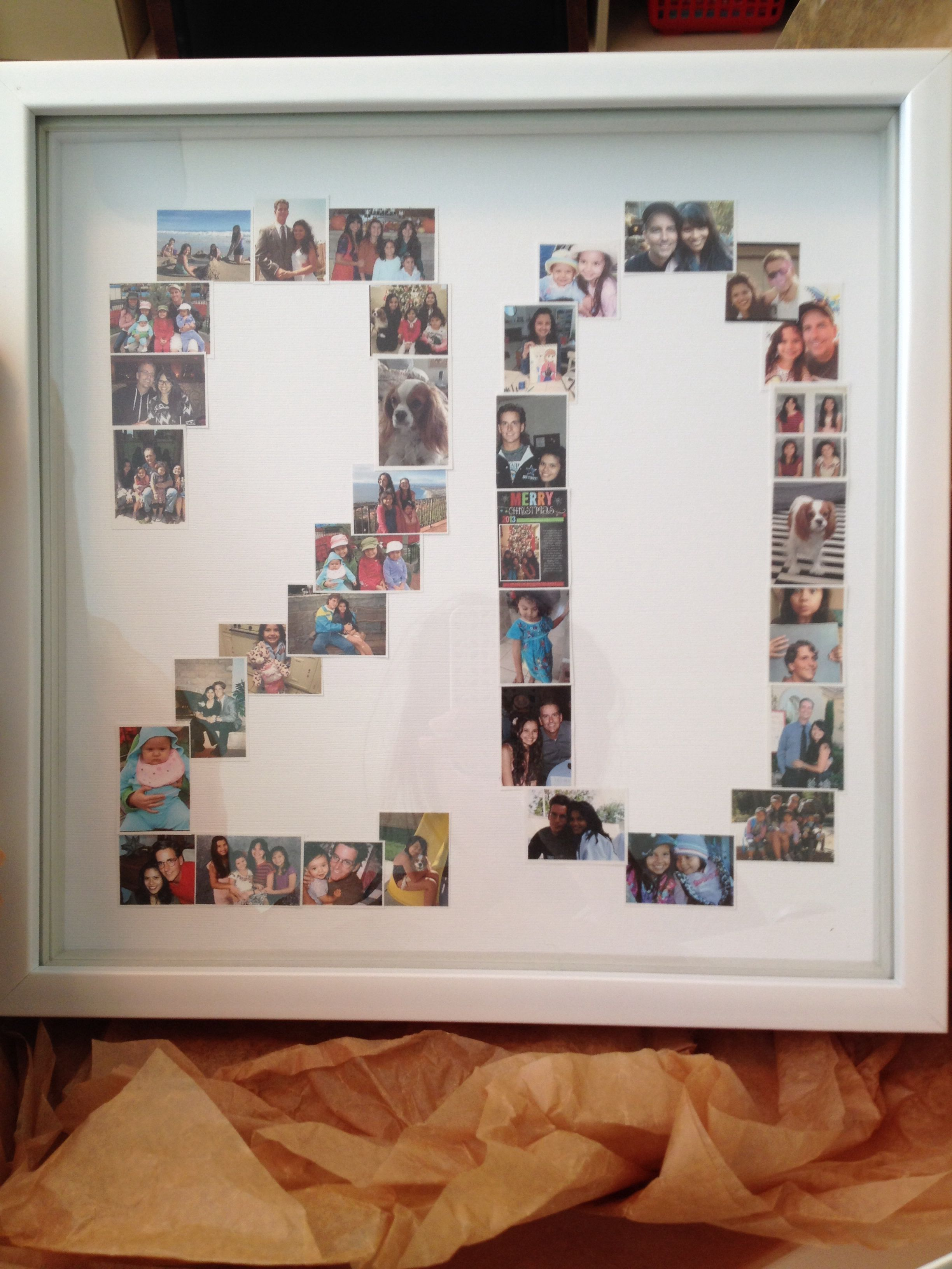 Photo Collage 20 Year Anniversary Weddinganniversarygifts 20