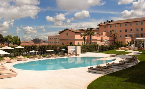 Family Friendly Hotel Review Of The Gran Melia Rome Perfectly Situated In Heart