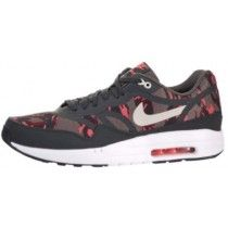 Chaussure de foot Nike Air Max 1 Premium Ruban Homme Brun/Mortier-Anthracite-atomique Rose yHJNn