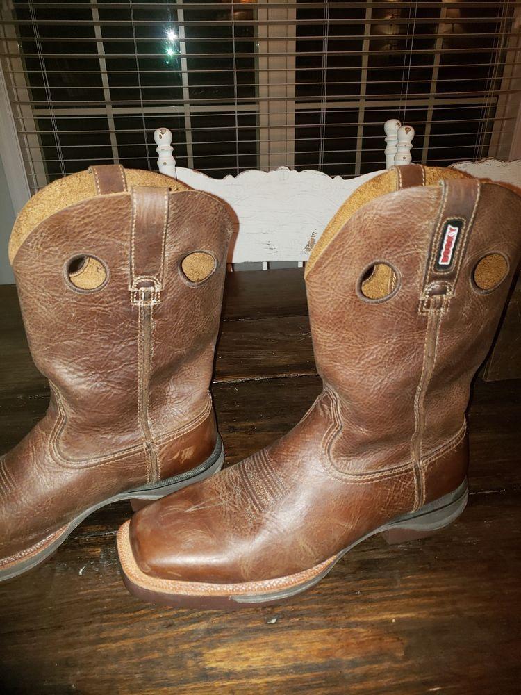 179cc0efbc4 Rocky Mens Ride Lt Roper Western Boot Tan RKW0142 #fashion #clothing ...