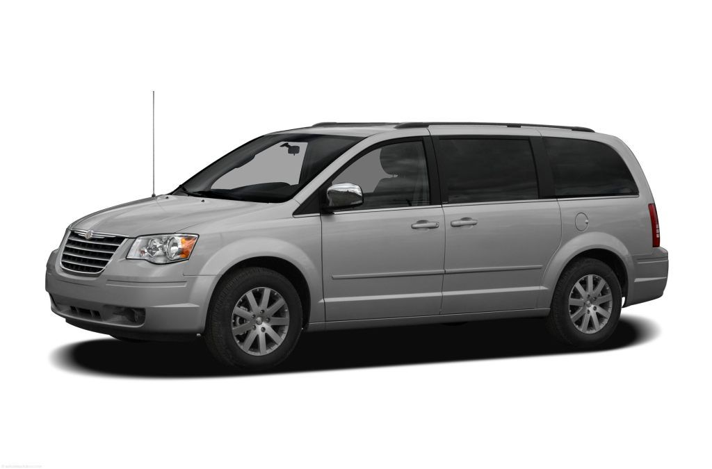 Chrysler Town And Country Minivan Silver Honda Odyssey Best