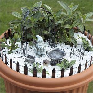 Garden & Pot Decoration Set