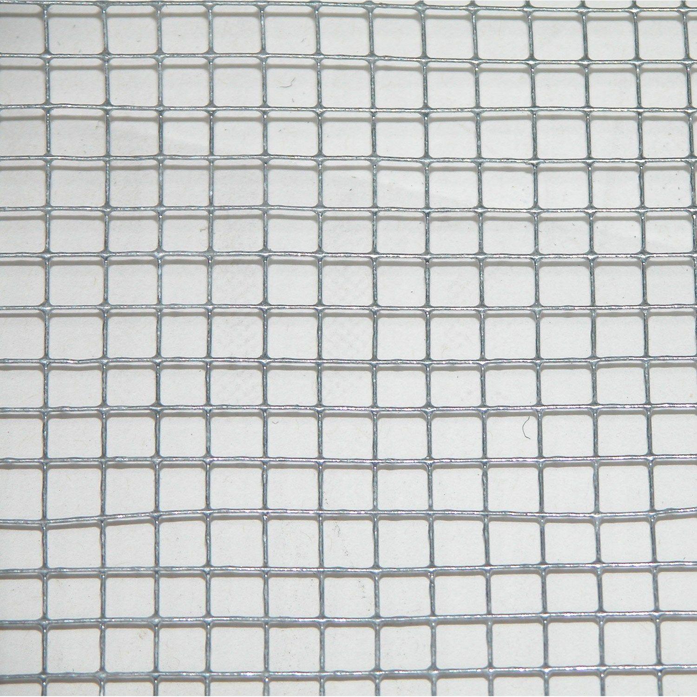 Grillage Pour Animaux Soude Gris H 1 X L 3 M Maille H 6 X L 6 4 Mm Grillage Souple Animaux Gris