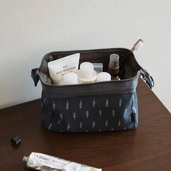 neue Mode Kosmetiktasche Frauen wasserdichte Flamingo Make-up Taschen Reiseveranstalter Toilettenartikel Kits Tragbare Make-up Taschen Beautician – Feder