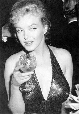 Marilyn Monroe April in Paris Ball 1957