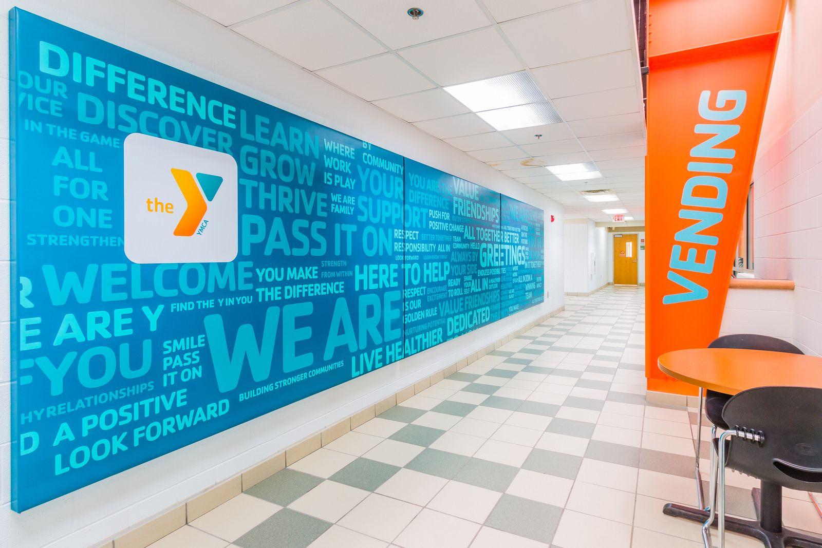 Lib Refresh 12 Ymca Recreation Centers Signage