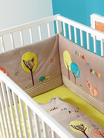 tour de lit coloré bébé Tour de parc | Chambre bébé | Pinterest | Baby bedroom tour de lit coloré bébé