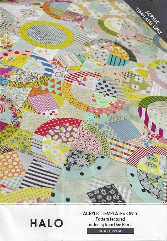 Jen Kingwell Designs Jenny from One Block Quilt Pattern   A Bed ... : one block quilt - Adamdwight.com