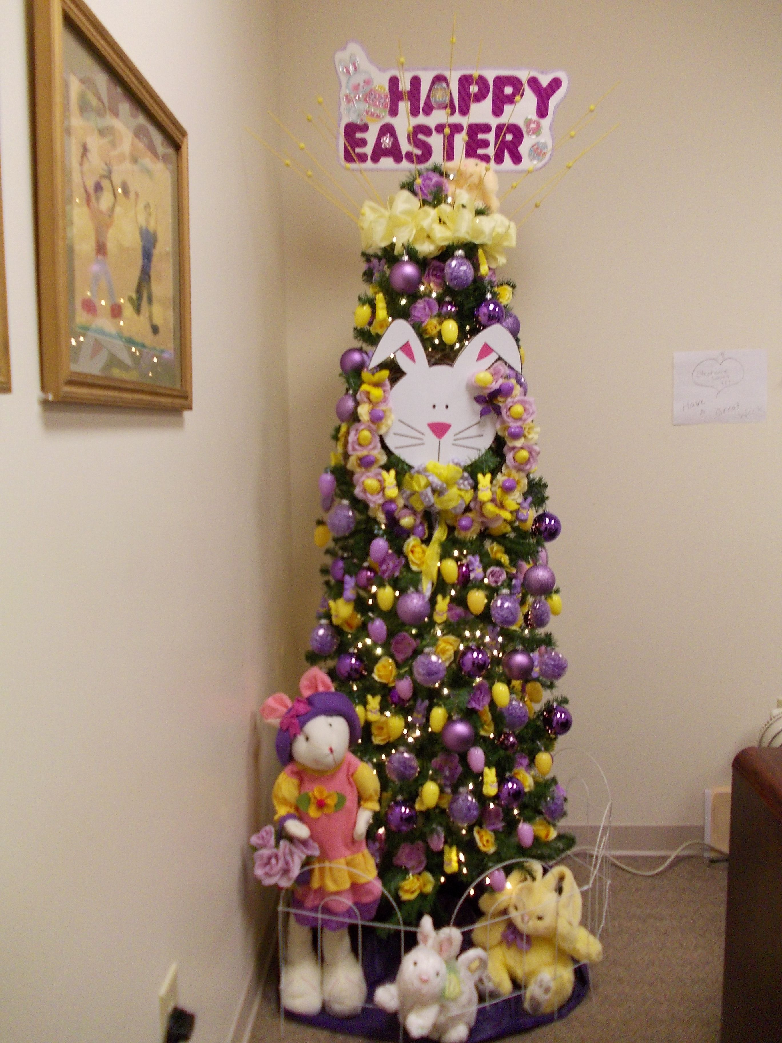 March Tree 2 Happy Easter Do You See The Yellow And
