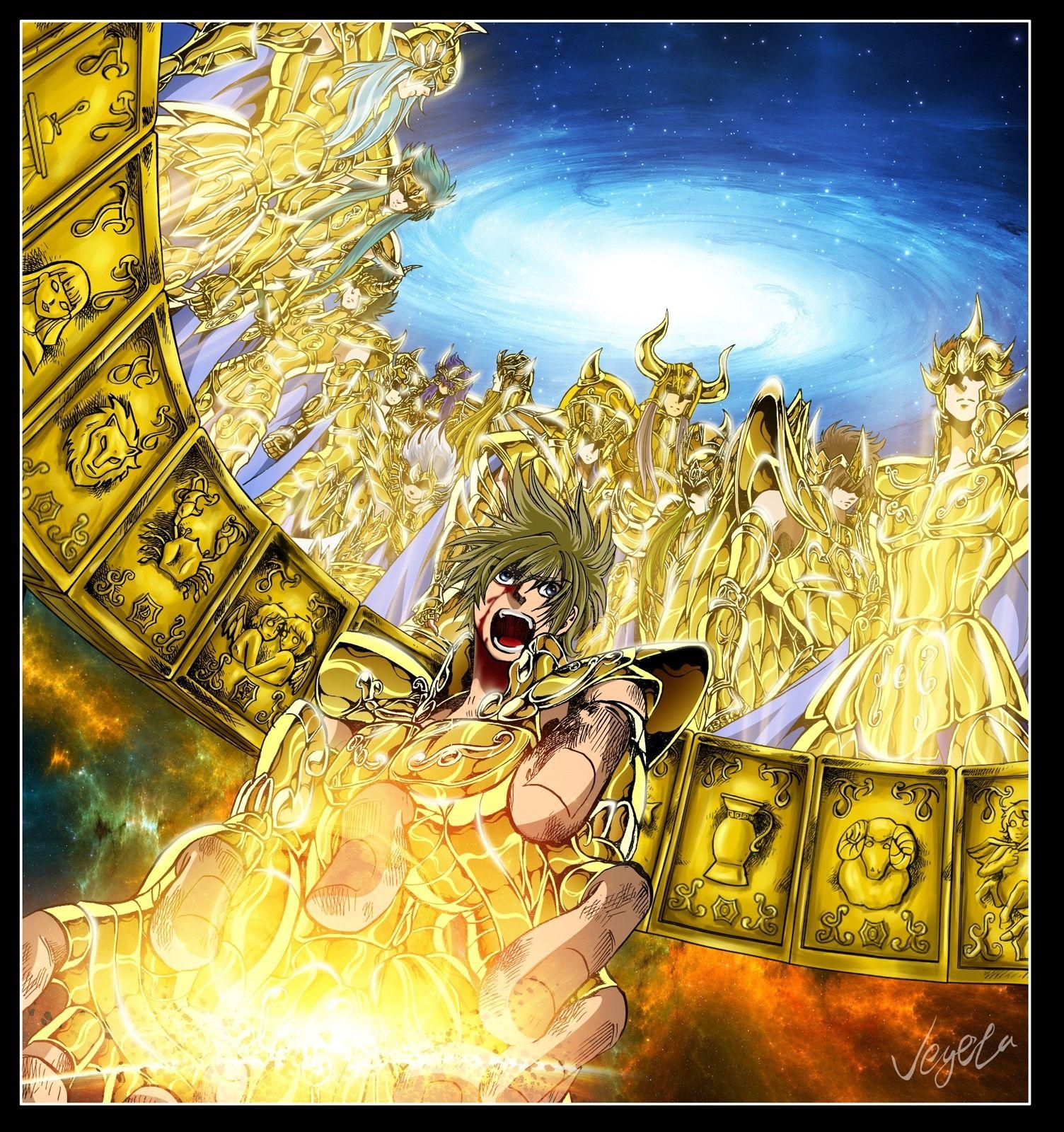 Gold Saints Lost Canvas Colorizations Fanarts By X Color Les Chevaliers Du Zodiaque Chevalier Du Zodiac Comic Anime