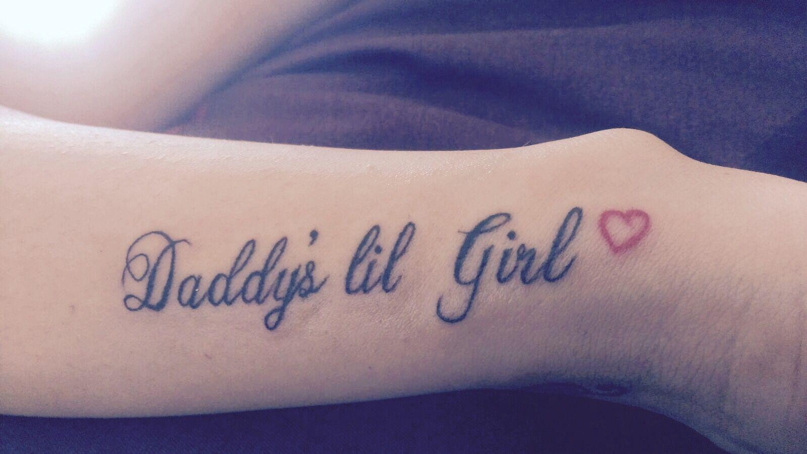 f6b8c4a6a daddy's#lil#girl tattoo | Tattoos! | Girl tattoos, Daddys girl ...