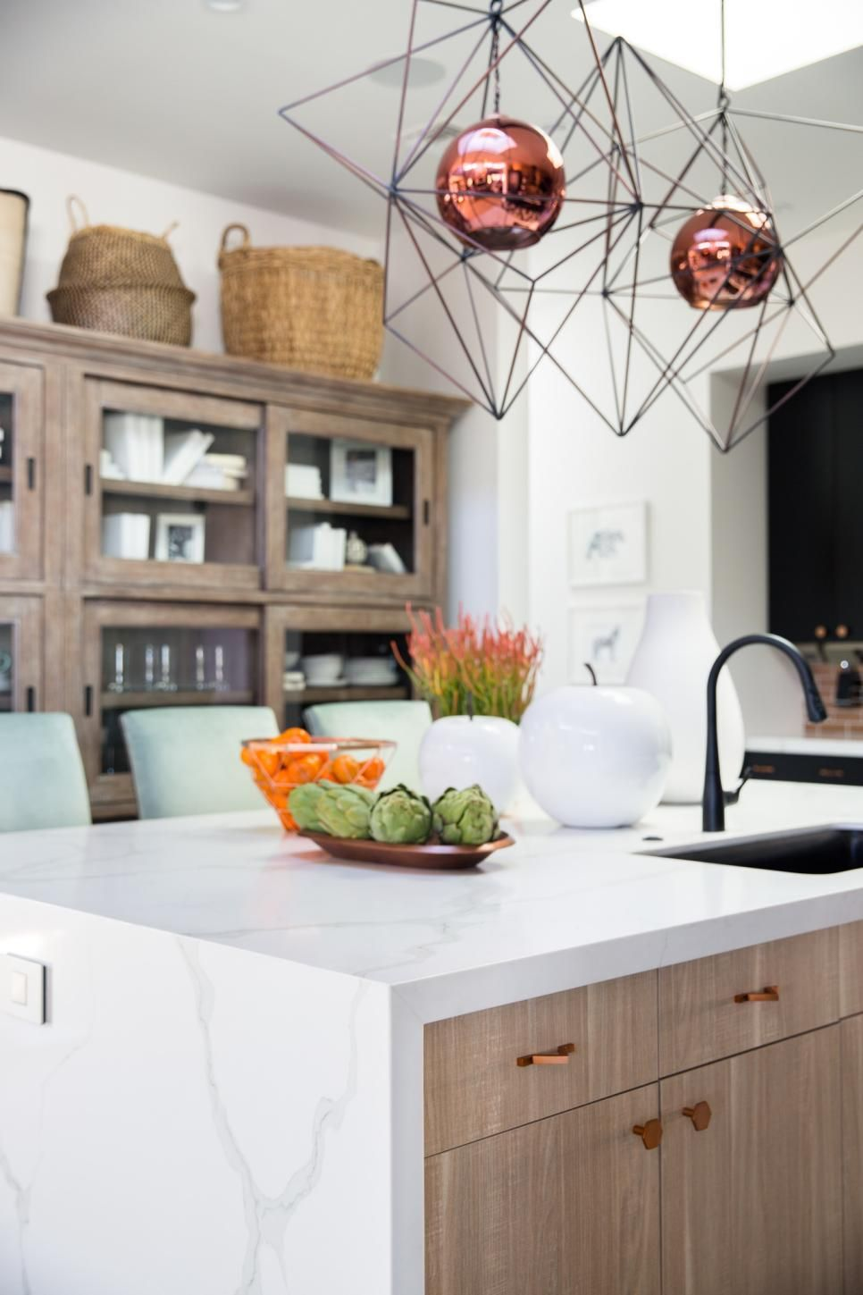 pictures of the hgtv smart home 2017 kitchen
