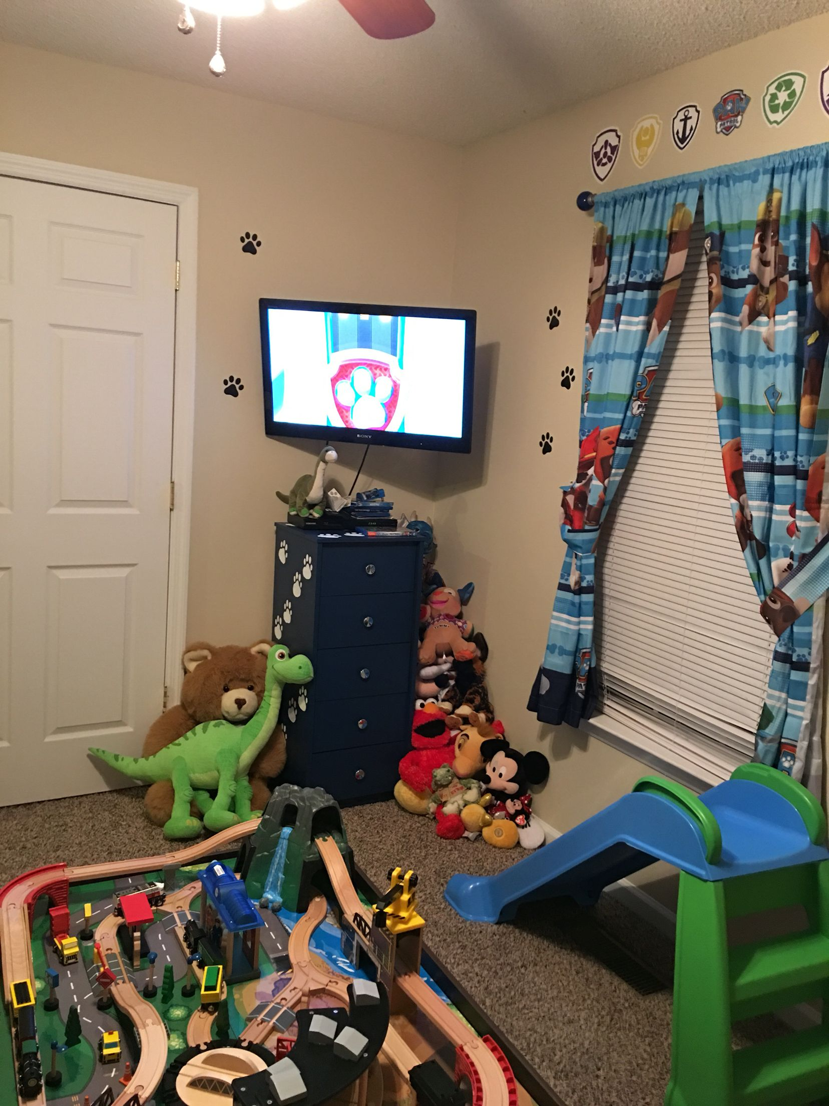 Paw Patrol Room My Sons Paw Patrol Bedroom Pinterest