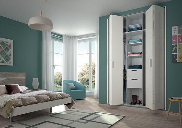nouvelles portes de placard pliantes m talliques kazed. Black Bedroom Furniture Sets. Home Design Ideas