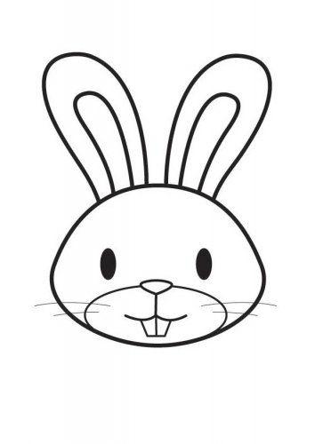 Easter Bunny Paper Craft Easter Pinterest Easter Bunny Inside