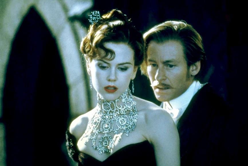 DID YOU KNOW: The most expensive piece of jewelry ever designed specifically for a movie was the necklace worn by Nicole Kidman in the musical Moulin Rouge. The $1,000,000 creation was designed by Stefano Canturi. The platinum necklace has 1,308 diamonds with a combined total of 134 carats.