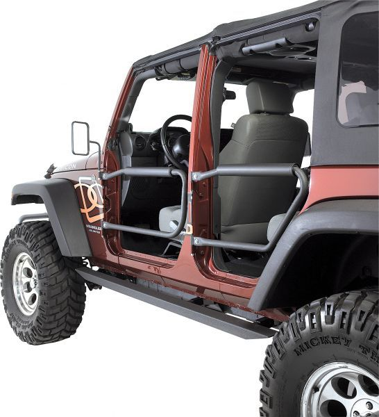 Olympic 4x4 Products Front Rear Safari Doors Jeep Parts And