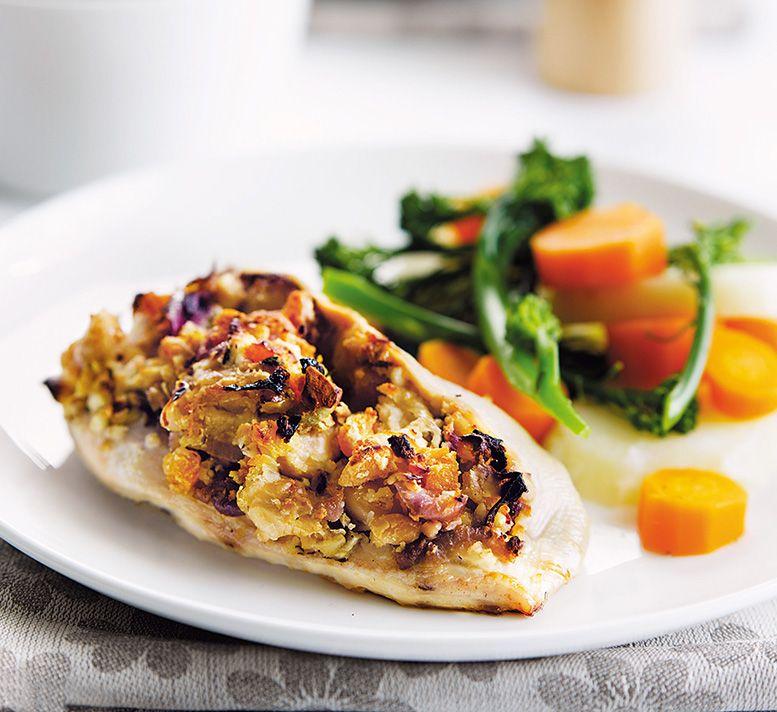 Butter Bean Apricot Chicken Recipe Healthy Food Butter Beans