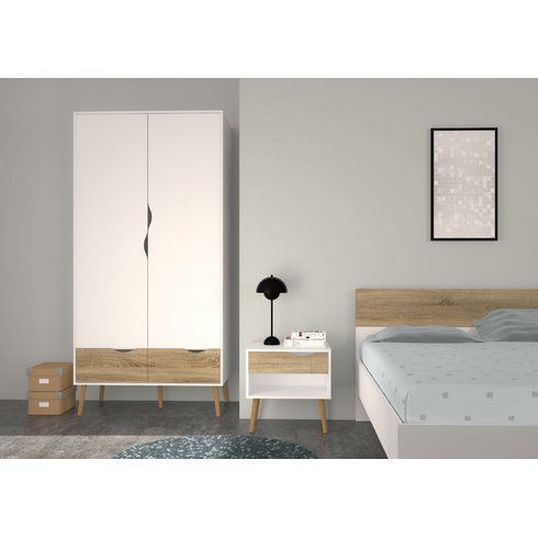 Zephyr 2 Drawer And 2 Door Armoire By Langley Street