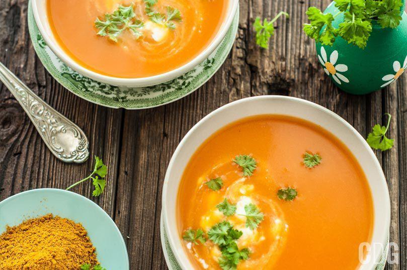 Zupa Marchewkowa Vega Przepisy Zupy I Blendery