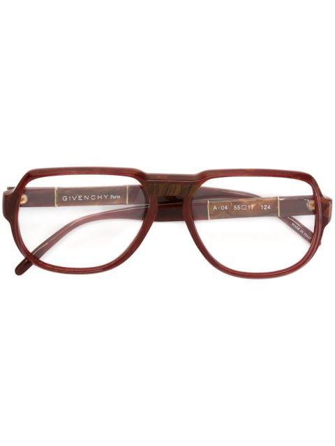 Comprar Givenchy Vintage gafas con montura ovalada en A.N.G.E.L.O ...