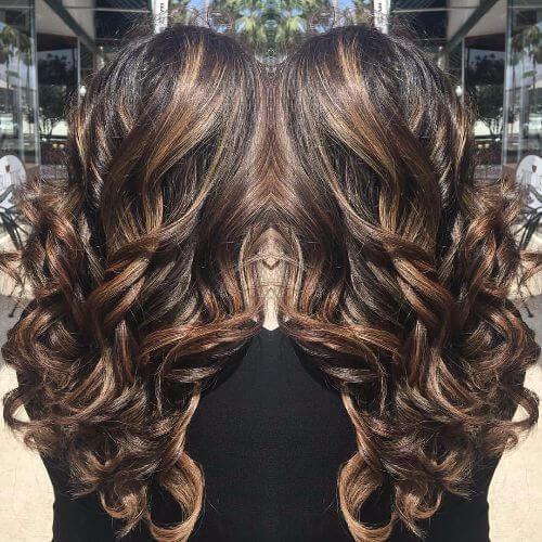 100 caramel highlights ideas for all hair colors - 500×500