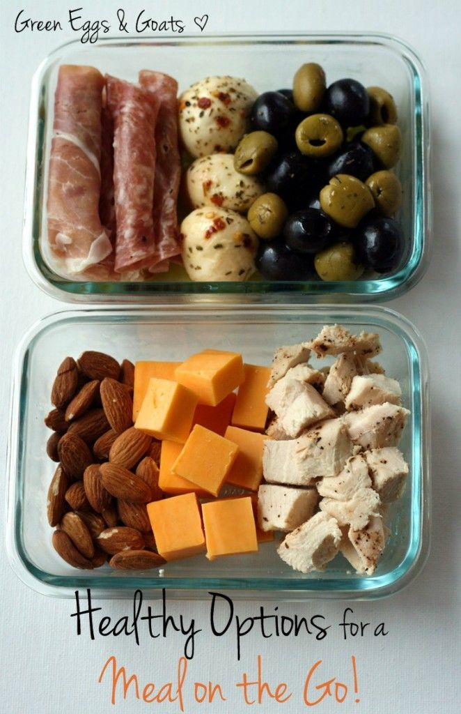 healthy options for a meal on the go ecoeats pinterest