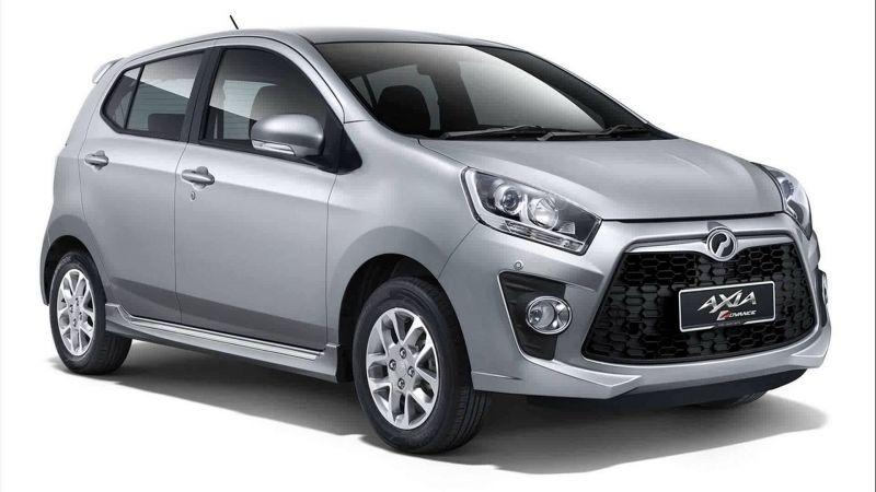 Perodua Axia 2017 Car Axia Car Perodua Axia