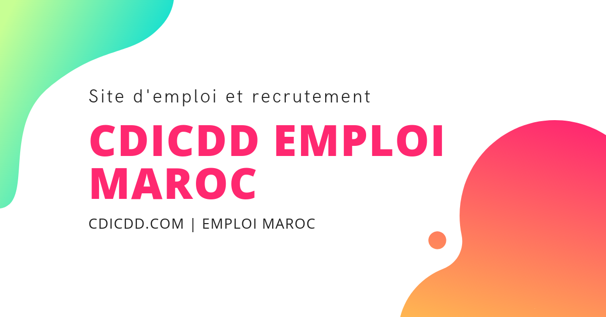 Site D Emploi Et Recrutement Au Maroc Avec Images Emploi Recrutement Annonce De Recrutement