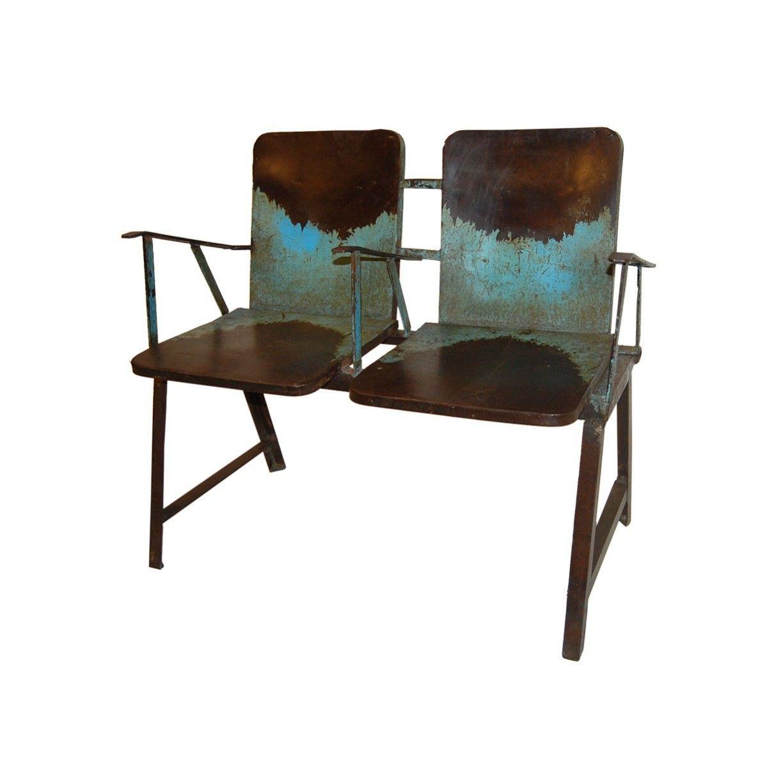 Comprar muebles y artículos de decoración vintage. Banco de cine de ...