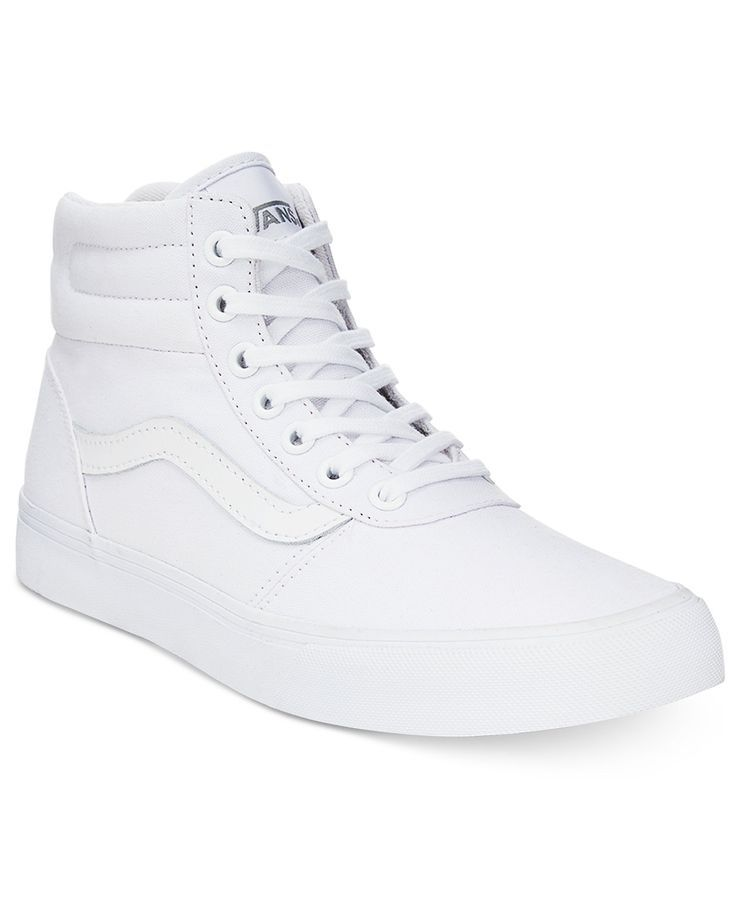 06d92e3003fad1 Vans Women s Milton High-Top Sneakers - Sneakers - Shoes - Macy s ...