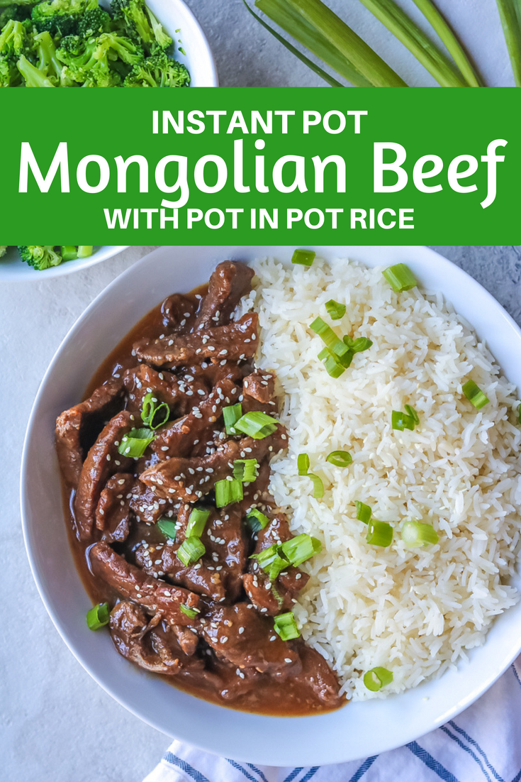 Instant Pot Mongolian Beef Your Favorite Chinese Take Out Is Made At Home In Less Tha