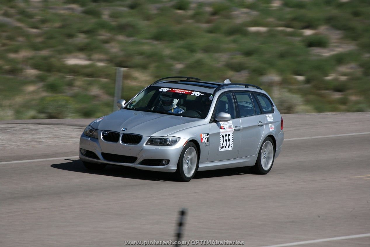 A 2009 Bmw 328xi Wagon Running In The 2012 Silver State Classic Challenge Open Road Race Sponsored By Optima Batter Car Association Street Cars Car And Driver