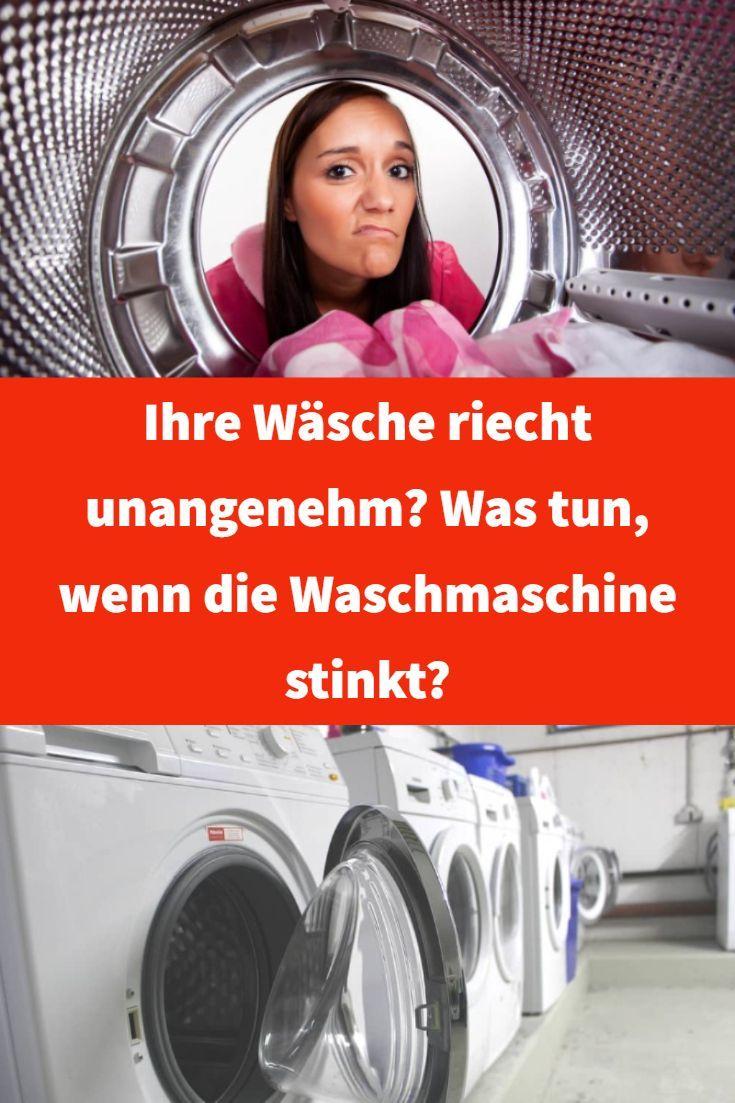 Ihre Wäsche riecht unangenehm? Was tun, wenn die