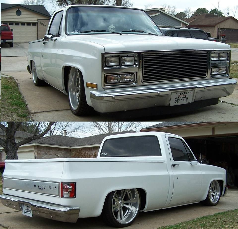 All Chevy chevy c10 body styles : Clean square body   73-87 square bodies   Pinterest   Squares ...