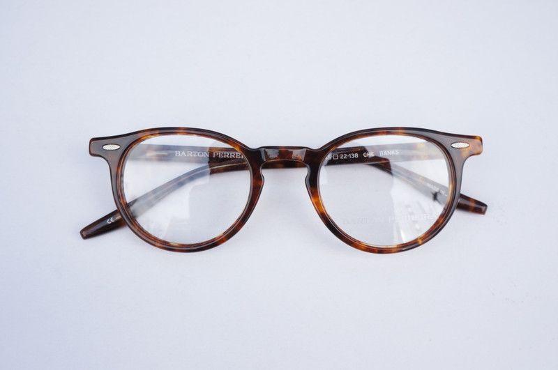 バートンペレイラ BARTON-PERREIRA メガネ BANKS(バンクス) Chestnut (栗色) 48サイズ   eyewear   optician   ポンメガネWEB