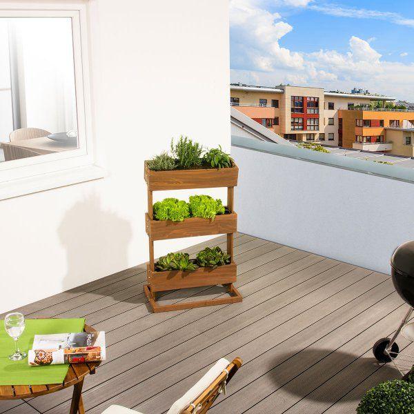 Vertikales Hochbeet Cube3 Aus Ikea Wagen Nachbauen Hochbeet Hochbeet Bauen Beete