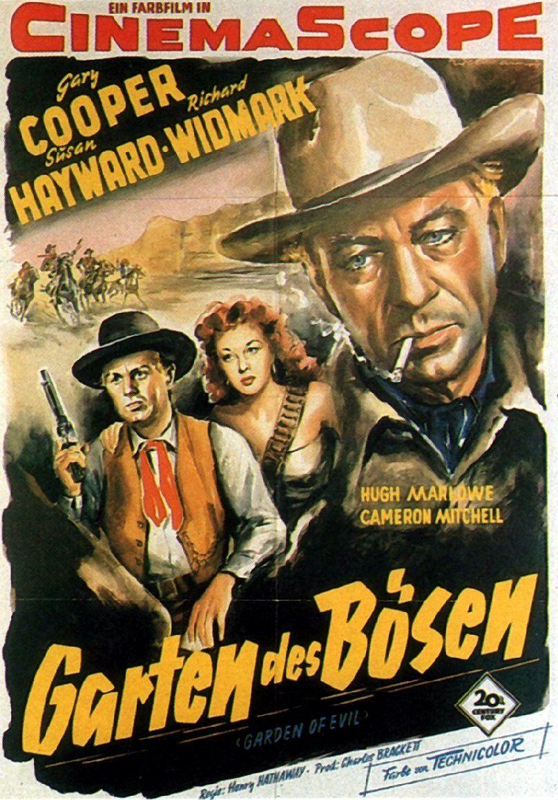 GARDEN OF EVIL (1954) - Gary Cooper - Susan Hayward - Richard ...
