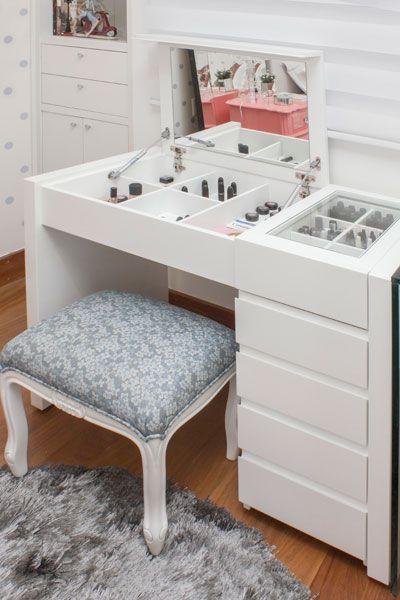 Die besten 25 espelho maquiagem ideen auf pinterest for Schlafzimmer mit schminktisch