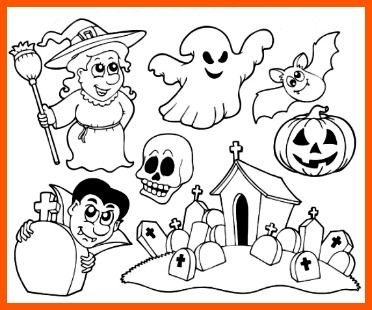 Printable Halloween Coloring Page For Kids To Print And Color