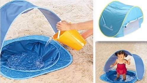 Baby Beach Tent Beach Umbrella! UV Protection From The Sun and Portable!  & Baby Beach Tent Beach Umbrella! UV Protection From The Sun and ...