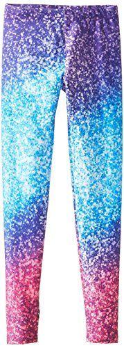 7c4f69660ff3a Zara Terez Big Girls' Glitter Mirror Legging Pant | blue shift ...
