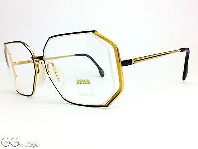 ZEISS 6835 CARAT Glasses FRAME 80's Vintage unworn NOS W. Germany spring hinges