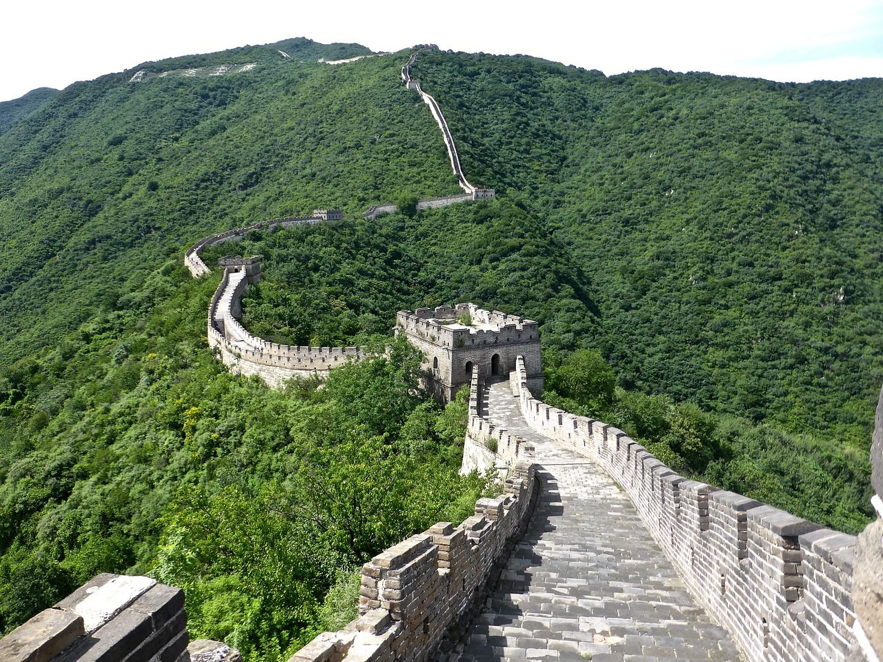 La Gran Muralla China, en China