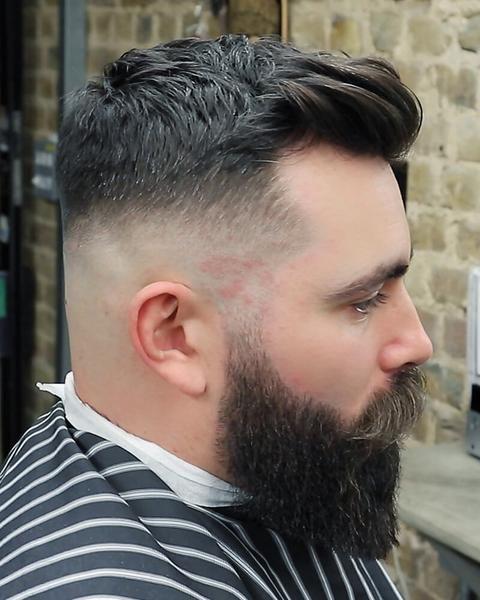 Epic Skin Fade Haircut Beard Trim Video Beards More Beards