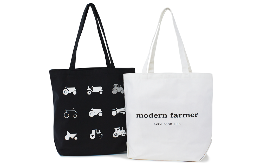 Modern Farmer — Canvas Tote Bag