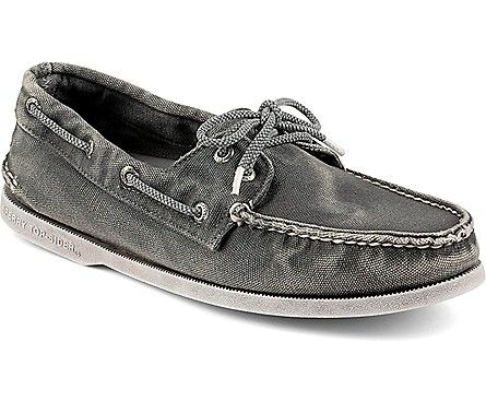 Sperry Top-Sider Authentic Original Color Washed Canvas 2-Eye Boat Shoe
